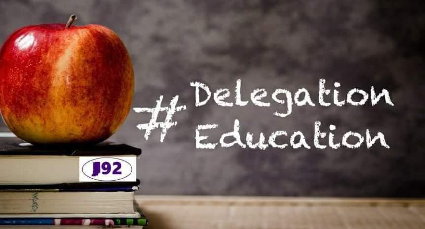 Delegation Education
